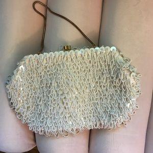 4/$25🧡 vintage beaded purse